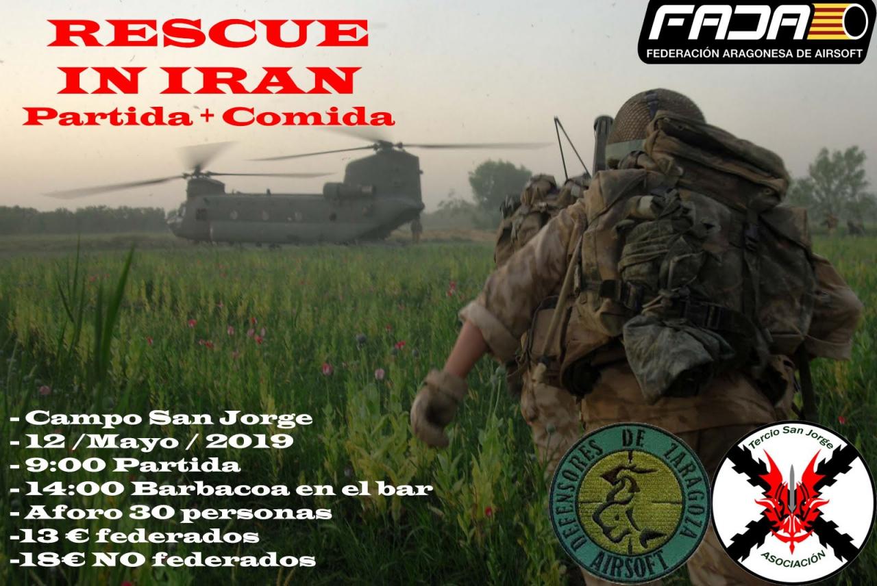 Rescue in Iran + Barbacoa